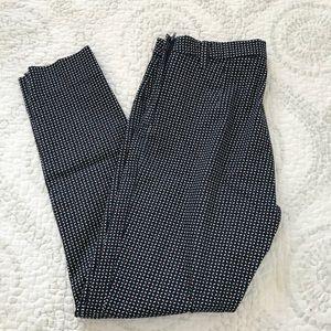 H&M skinny slack pants